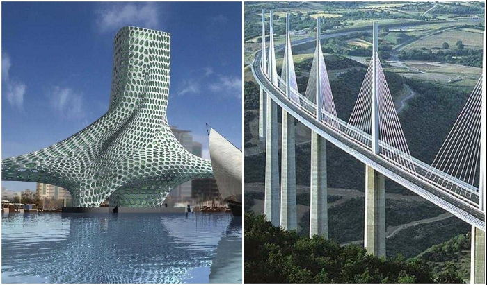 8 мостов с футуристическими формами, которые стали символом современной  архитектуры